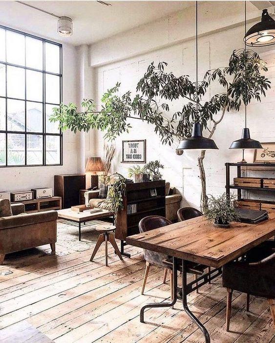 Industrial Living Room Ideas 17