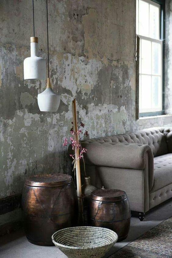 Industrial Living Room Ideas 19