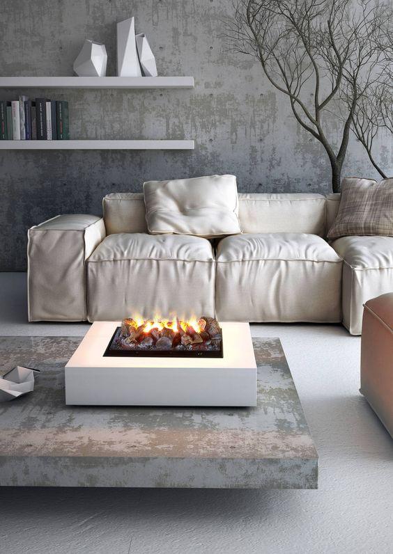 Industrial Living Room Ideas 21