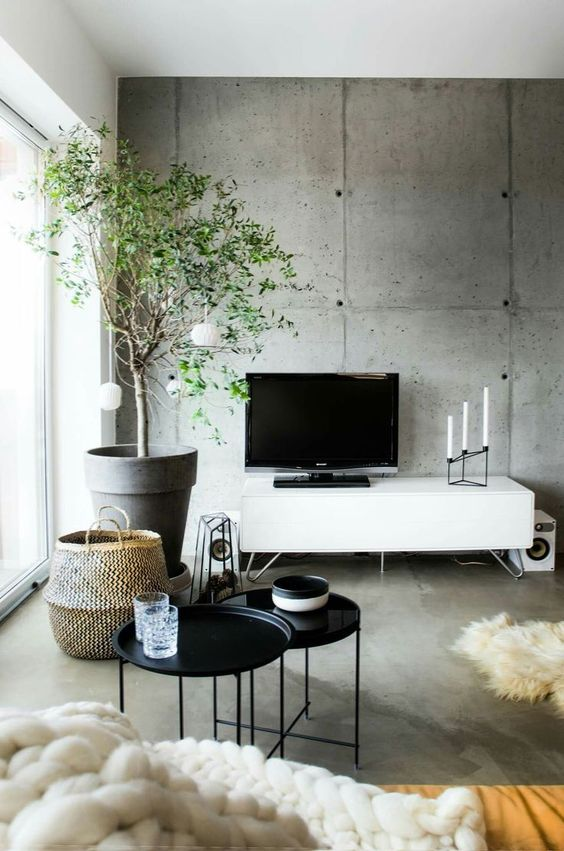 Industrial Living Room Ideas 23