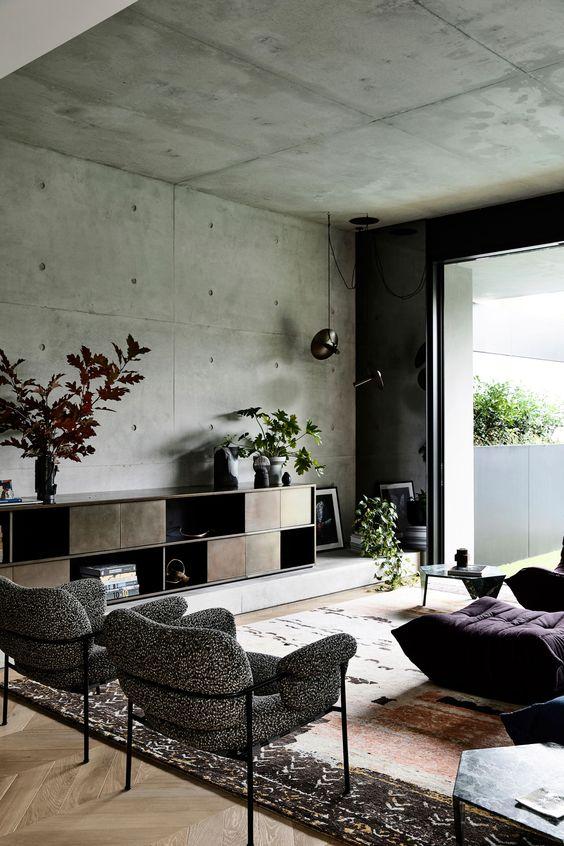 Industrial Living Room Ideas 24