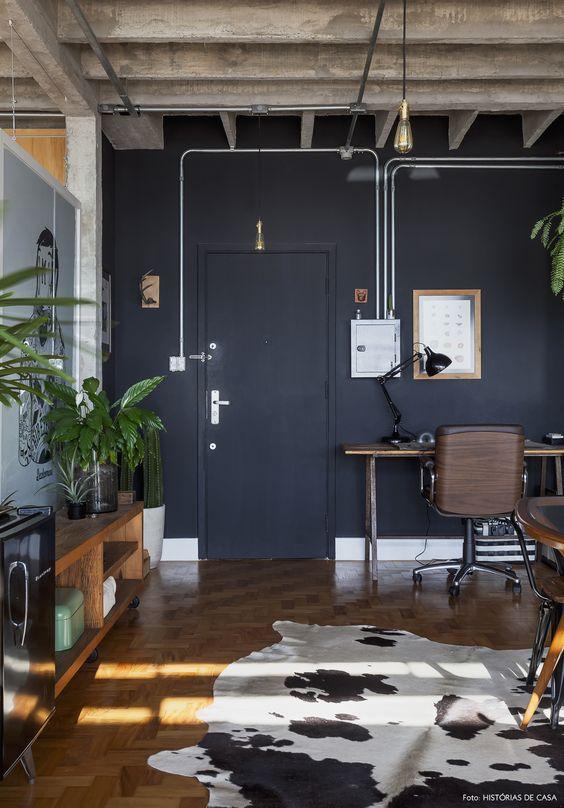 Industrial Living Room Ideas 25