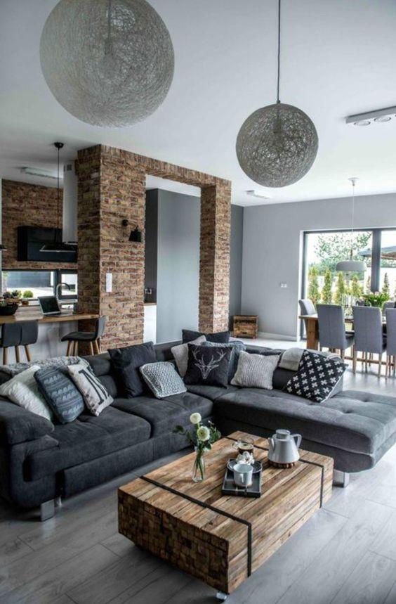 Industrial Living Room Ideas 5