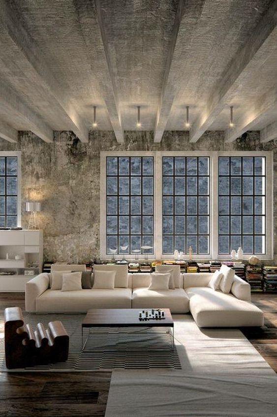 Industrial Living Room Ideas 7