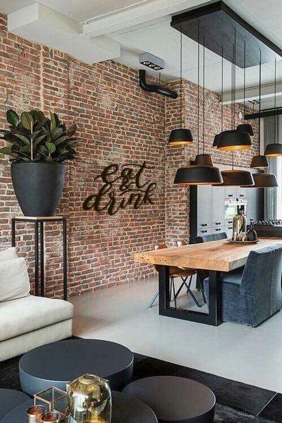 Industrial Living Room Ideas 8