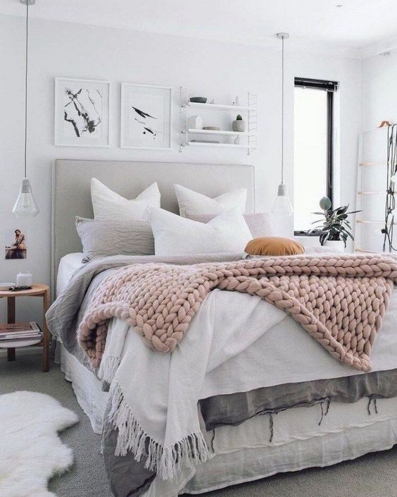 Scandinavian Bedroom Ideas 16