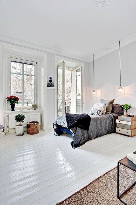 Scandinavian Bedroom Ideas: Minimalist Overall Look